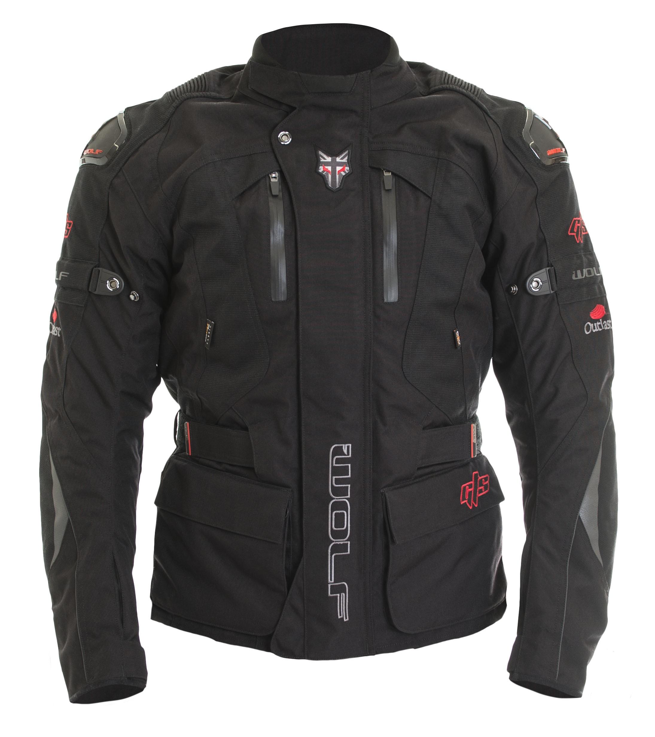 Summer Motorcycle Jacket >> Wolf GT-S Titanium Motorbike Jacket | Textile Motorcycle Jacket